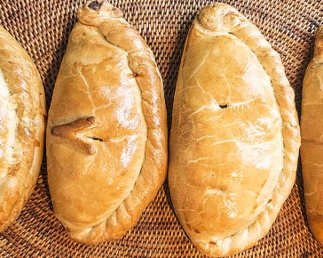 West country pasties